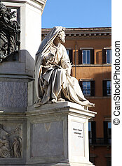 Isaiah Colonna dell Immacolata Rome - the sculpture of...