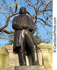 Isambard Kingdom Brunel 1806-59 is the worlds most famous engineer. He best is known for the creation of the Great Western Railway and a series of steamships, bridges and tunnels. His Victorian bronze statue stands at The Temple in London