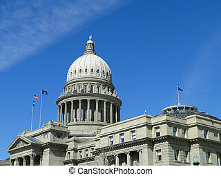ISC - Idaho's State Capitol building was constructed between...
