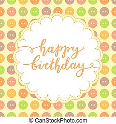 iscrizione, compleanno, felice