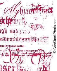 iscrizione, disegno, fondo, struttura