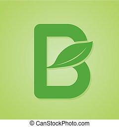 iscrizione, ecologia, natura, verde, vector., logotipo