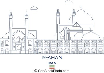 Isfahan City Skyline, Iran