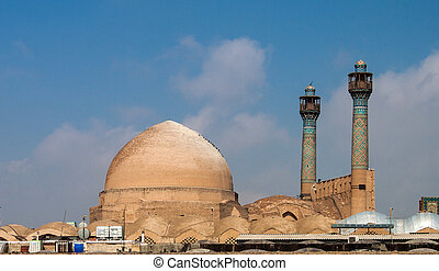 isfahan, jameh, iran, moschea
