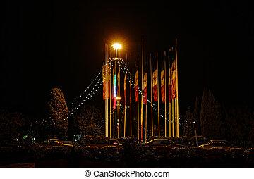 Isfahan night scene