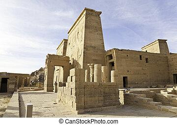 isis, 寺院, philae