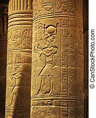 isis, philae, 島, 驚かせること, egypt:, aswan, 寺院