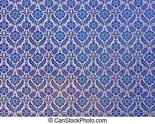 islámico, azulejos