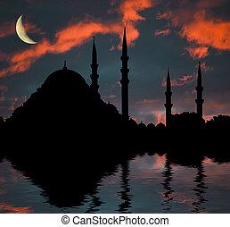 islámico, mezquita