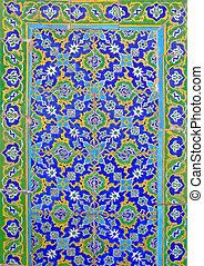 islámico, pared