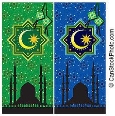 islámico, patrón