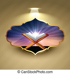 islámico, plano de fondo