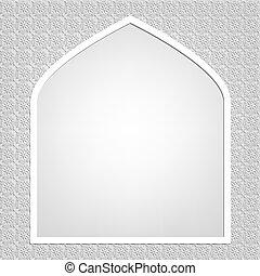 islámico, tarjeta