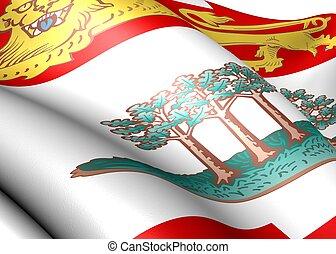 isla, bandera, edward, príncipe