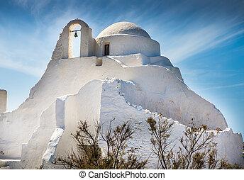 isla, cruces, ocaso, iglesias, griego