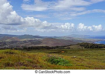Isla de Pascua. Rapa Nui. Easter Island - South America....