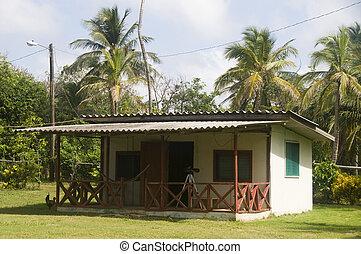 isla, maíz, nicaragua, selva, cabaña