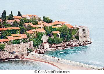 isla, mar adriático