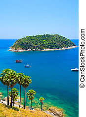 isla, meridional, phuket, tailandia