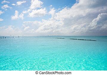 Isla Mujeres island Caribbean beach Mexico - Isla Mujeres...
