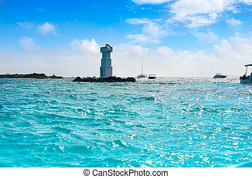 Isla Mujeres lighthouse El Farito snorkel point - Isla...