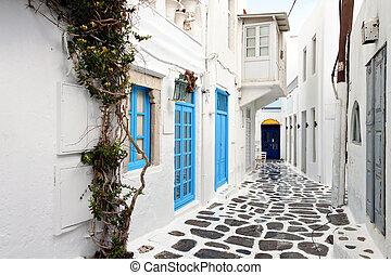 isla, mykonos, grecia