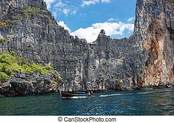 isla, phi, provincia, krabi, tailandia