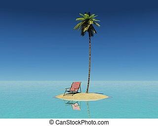 isla, remoto
