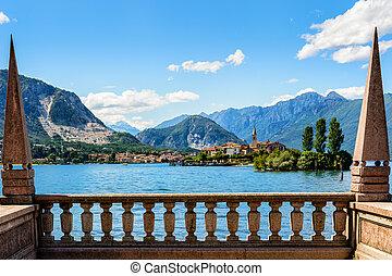islad, maggiore, 湖, bella