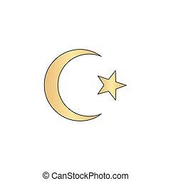 Islam computer symbol