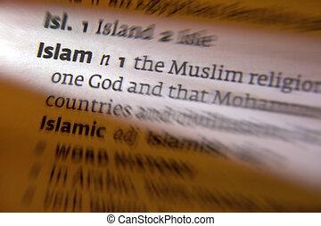 Islam - Dictionary Definition