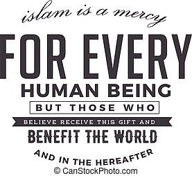 an benefit the world and in the hereafter