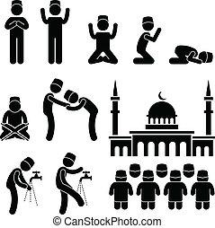 islam, musulmano, religione, cultura