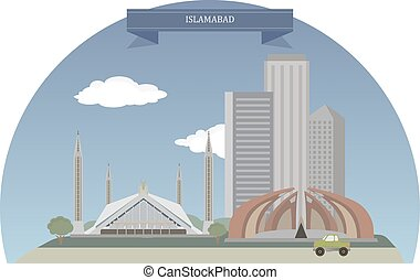 Islamabad. Capital city of Pakistan located within the Islamabad Capital Territory