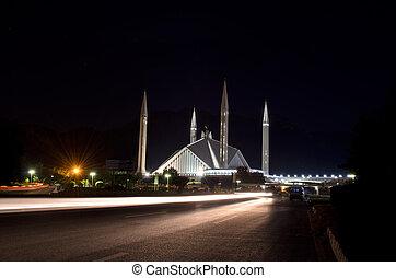 islamabad, shah, mosquée, faisal
