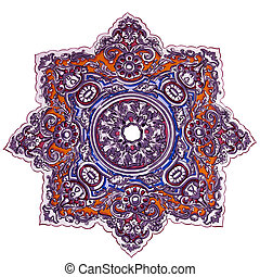 Islamic art - Islamic ceiling decorations from mosque in...