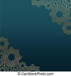 Islamic Background design for Ramadan Kareem