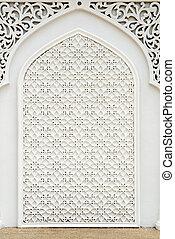 Islamic design. - An example of Islamic design cast in...