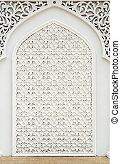Islamic design. - An example of Islamic design cast in...