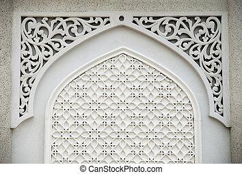 Islamic design - An example of Islamic design cast in...