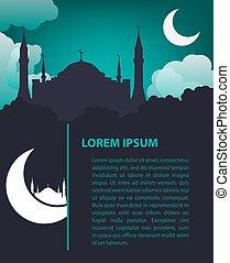 Islamic design template