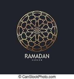 Islamic Ethnic Pattern - Ramadan Kareem. Islamic Ethnic...
