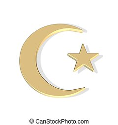 islamic flag symbol icon