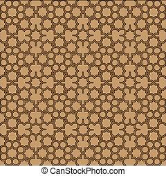Islamic geometric background.