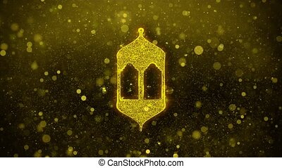 Islamic, islam, religious, Monument, Monuments Icon Golden...