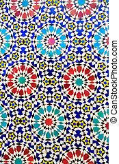 Islamic mosaic Moroccan style useful as background - Islamic...