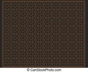 Islamic ornament illustration