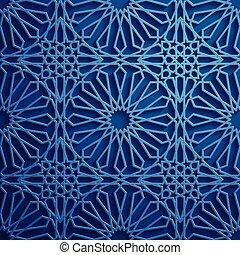 Islamic Ornament Vector Persian Motiff 3d Ramadan
