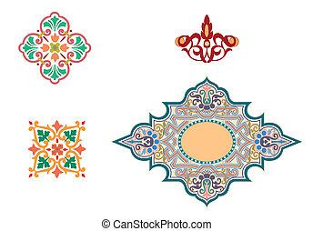 Islamic ornaments  - Islamic ornaments