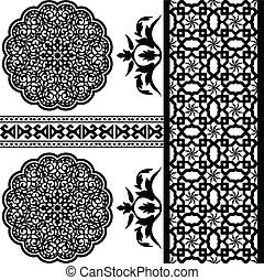 islamic, padrão